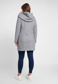 Vero Moda Curve - VMVERODONA - Short coat - light grey melange - 2