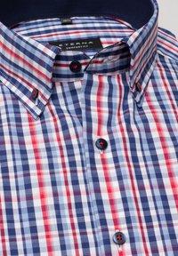 Eterna - COMFORT FIT - Shirt - rot/blau - 4