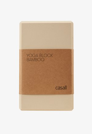 YOGA BLOCK - Fitness/jóga - beige