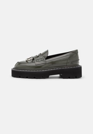 SCARPA DONNA SHOES - Slip-ons - military green