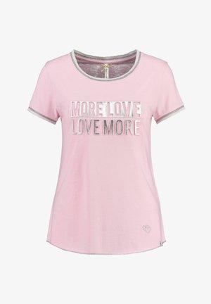 """MORE"" - Print T-shirt - pink"