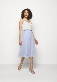 Needle & Thread - KISSES MIDAXI SKIRT - A-line skirt - wedgewood blue - 1