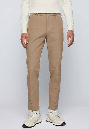 Trousers - open beige