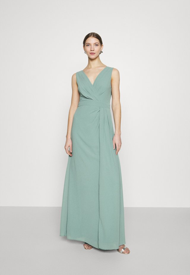 REEVIRA MAXI - Abito da sera - native green
