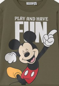 Name it - DISNEY MICKEY MOUSE  - Mikina - deep lichen green - 2