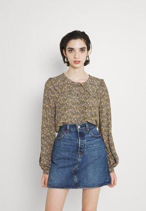 NUCHABELLY SHIRT - Button-down blouse - grape leaf