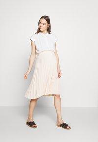 Pomkin - CHARLOTTE - Áčková sukně - nude - 1