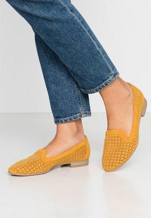 Slipper - saffron