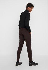 HUGO - HESTEN - Suit trousers - dark red - 2