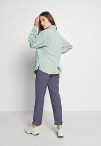 Moves - SAVISA - Button-down blouse - mint green - 2