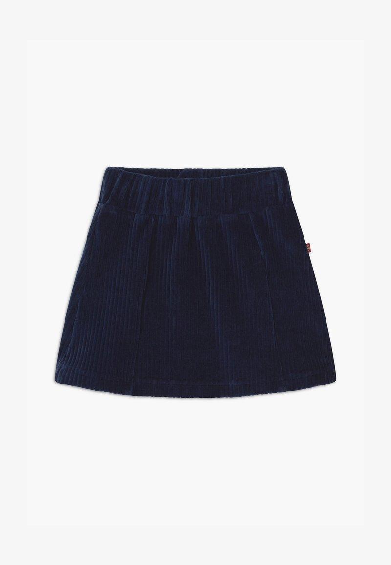 Lemon Beret - SMALL GIRLS - A-line skirt - navy blazer