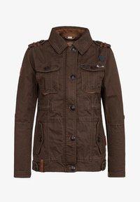 Naketano - Summer jacket - brownie - 0