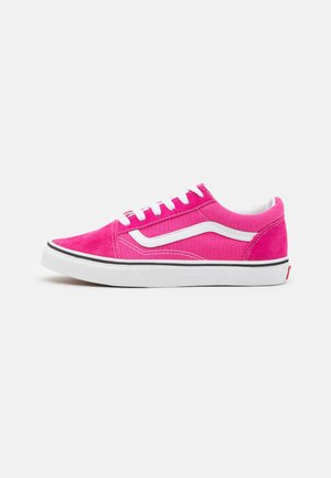 OLD SKOOL - Sneaker low - fuchsia purple/true white