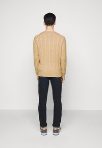 Polo Ralph Lauren - CABLE - Pullover - camel melange - 2