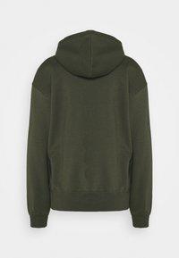 Nike Sportswear - HOODIE TREND - Sweat à capuche - cargo khaki/white - 1