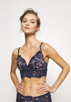 SHILOH NON WIRE  - Triangle bra - peacoat