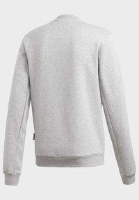 adidas Performance - BADGE OF SPORT FLEECE SWEATSHIRT - Sweatshirt - grey - 12