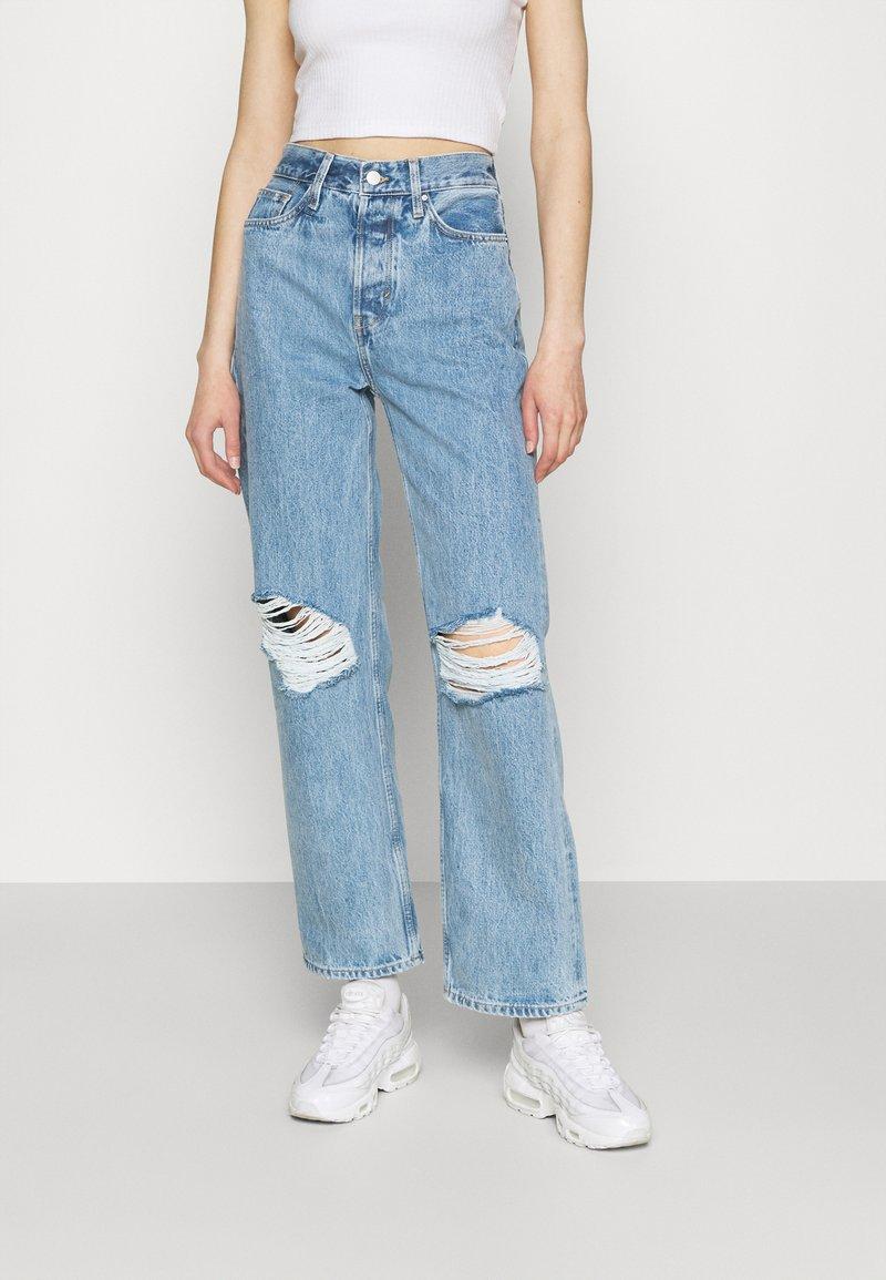 Even&Odd - Jeans straight leg - light blue denim