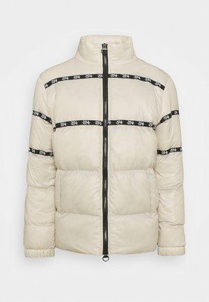 SHINNY PUFFER JACKET - Winter jacket - champagne
