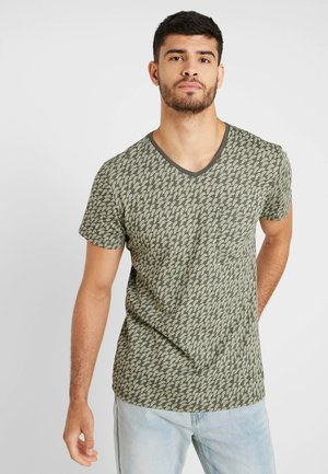 TEE - T-shirt con stampa - dusty olive green