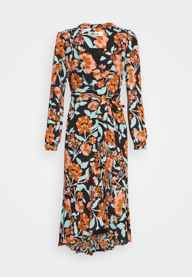 Diane von Furstenberg - CARLA TWO - Denní šaty - gardenia black