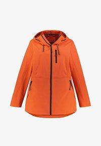 Ulla Popken - Soft shell jacket - manderine - 1
