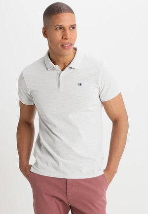 CLASSIC CLEAN - Polo shirt - light grey melange