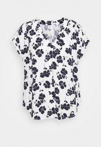 GAP Petite - Print T-shirt - navy/white - 0