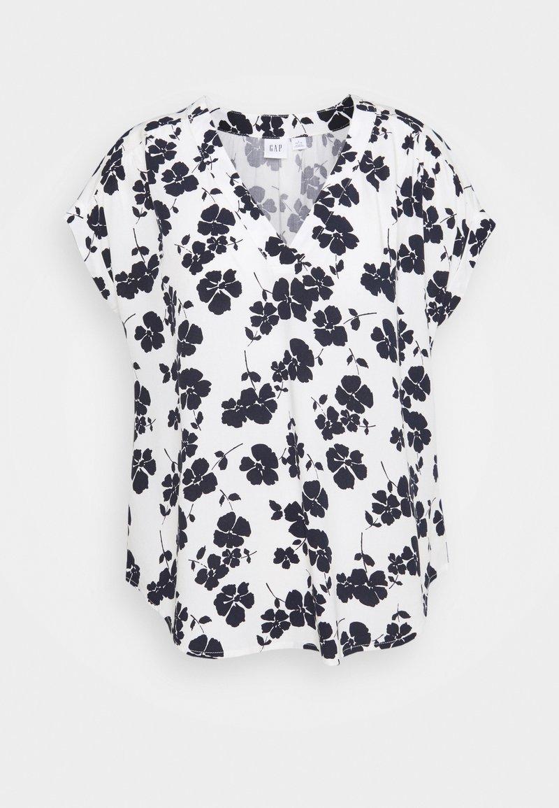 GAP Petite - Print T-shirt - navy/white