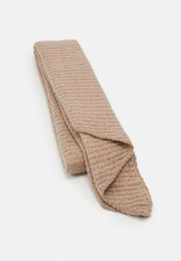 Pieces - PCPYRON STRUCTURED LONG SCARF  - Sjaal - natural - 0