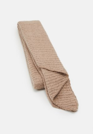 PCPYRON STRUCTURED LONG SCARF  - Sjaal - natural