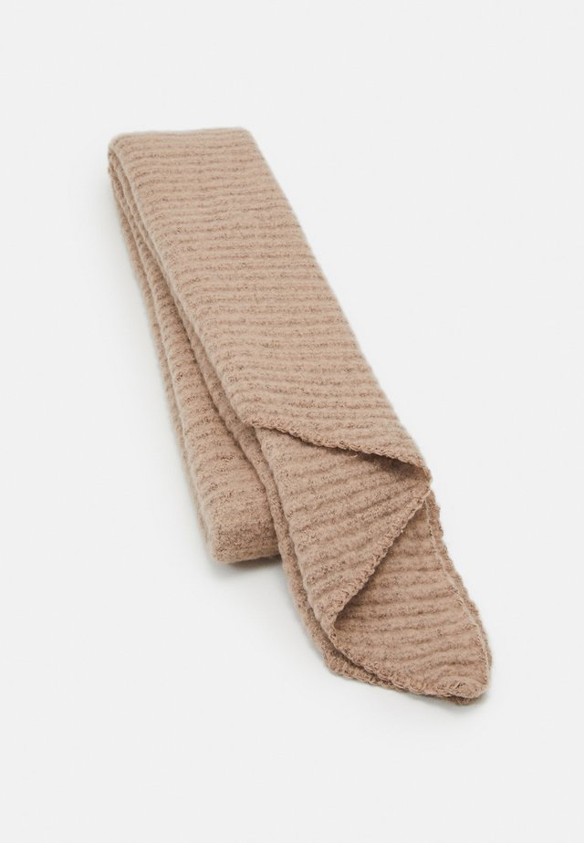 PCPYRON STRUCTURED LONG SCARF  - Scarf - natural