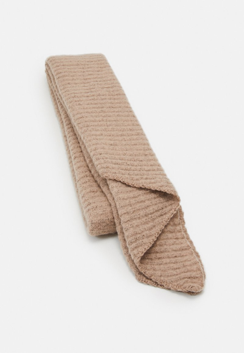 Pieces - PCPYRON STRUCTURED LONG SCARF  - Sjaal - natural