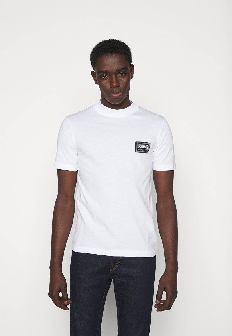 Versace Jeans Couture - MARK  - T-shirt con stampa - white