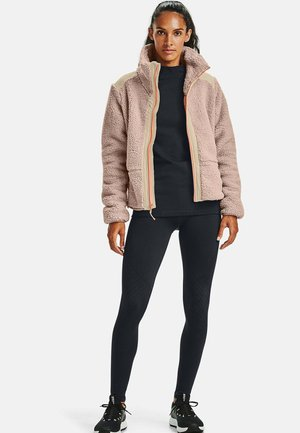 LEGACY - Fleece jacket - blush beige