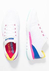 Skechers Sport - FLEX APPEAL 3.0 - Sneakers - white/multicolor - 3