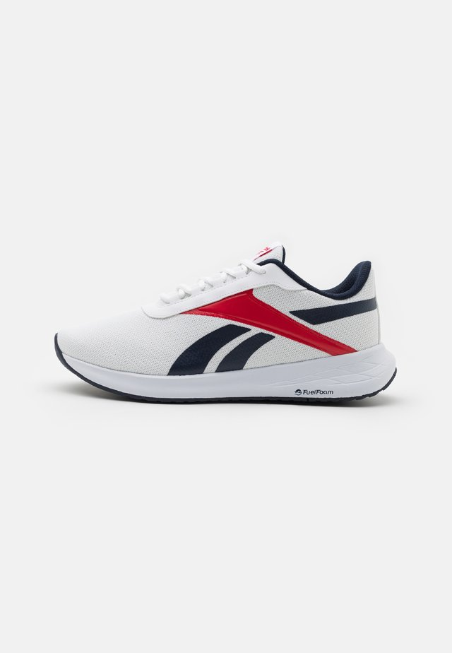 ENERGEN PLUS - Scarpe running neutre - footwear white/vector navy/vector red