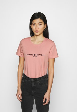 REGULAR TEE - T-shirts med print - soothing pink