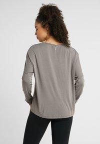 Deha - MANICA LUNGA - Long sleeved top - elephant gray - 2
