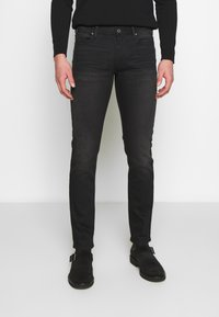 Emporio Armani - Džíny Slim Fit - denim nero - 0