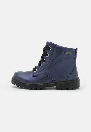 SPIRIT - Šněrovací kotníkové boty - blau