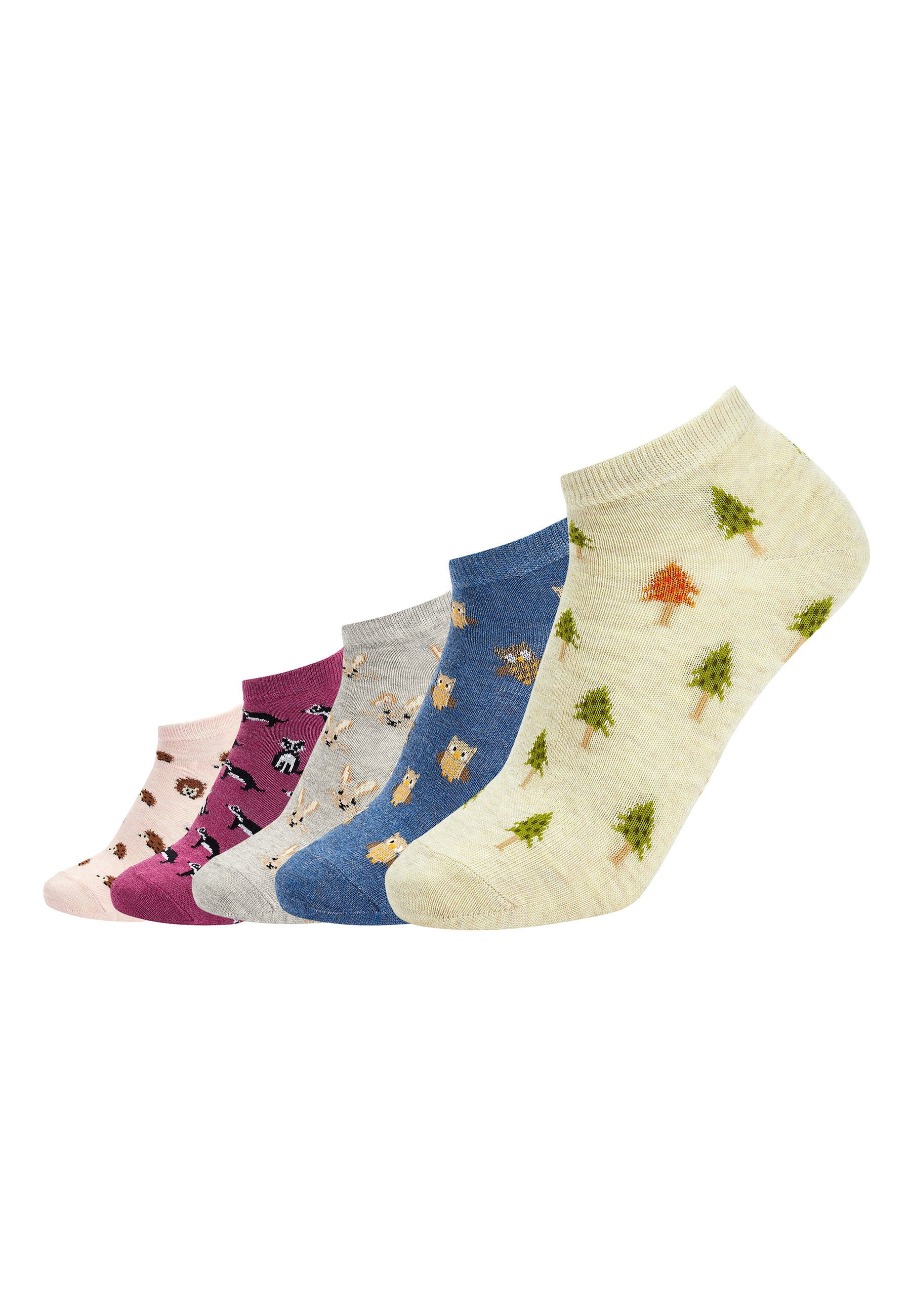 Mujer Five Pack - Calcetines