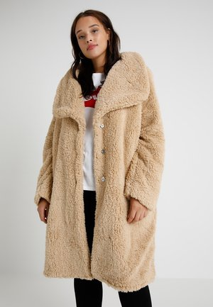 LADIES SOFT COAT - Vinterfrakker - darksand