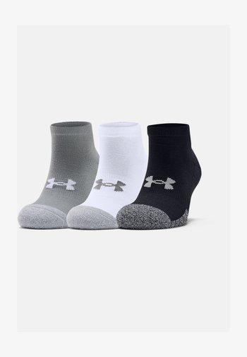 HEATGEAR LOCUT 3 PACK - Sports socks - steel