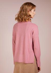 pure cashmere - TURTLENECK - Svetr - rose pink - 2