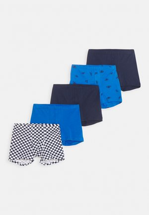 SHORTS 95/5 5 PACK - Pants - blue