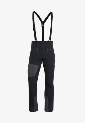 BASE JUMP TOURING - Outdoor trousers - black/phantom