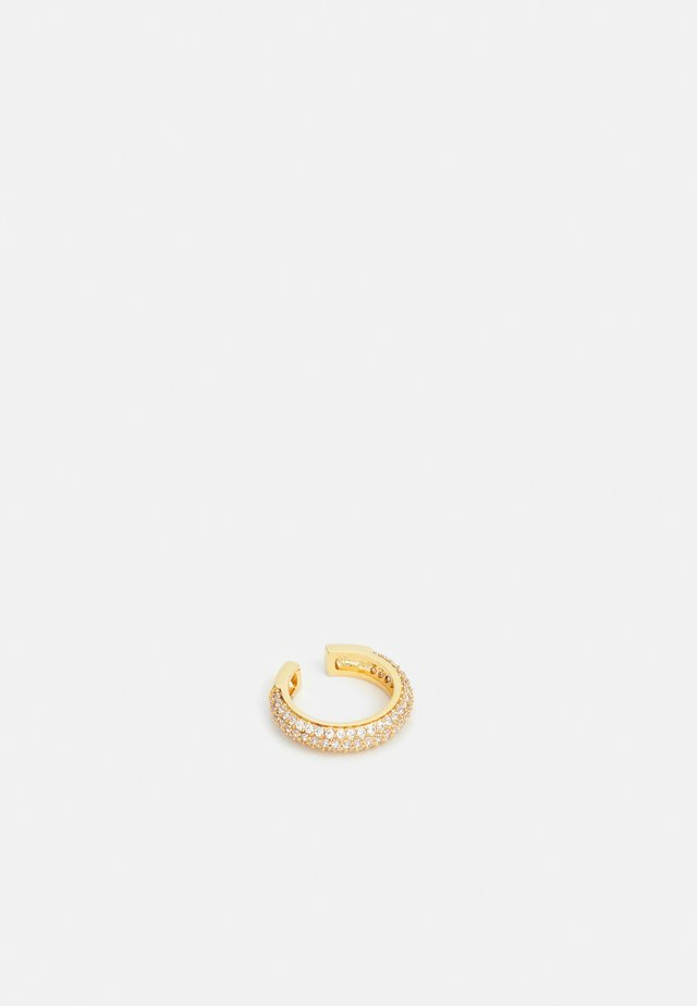 DOMED PAVE EAR CUFF - Oorbellen - gold-coloured