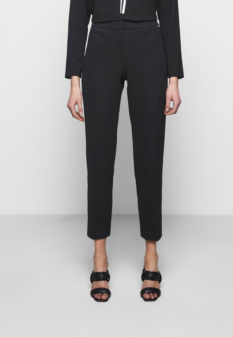 HUGO - HEBINA - Trousers - black