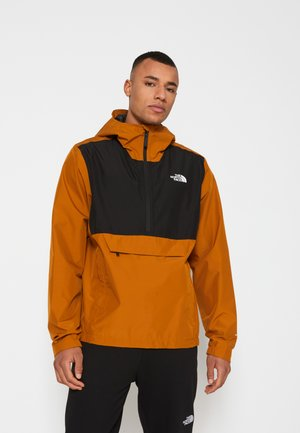 MEN'S WATERPROOF FANORAK - Windbreakers - timber tan